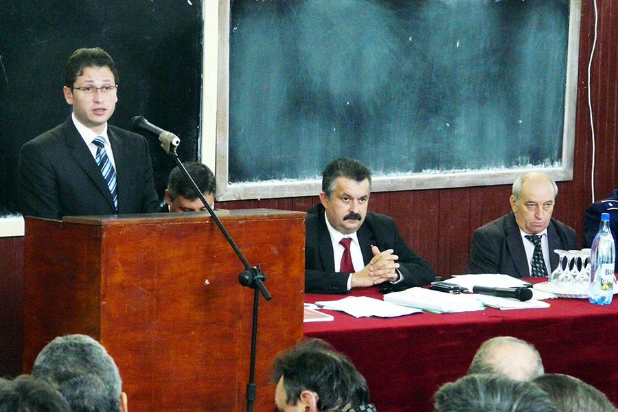 Inspectorul şcolar general Ion Işfan a fost prezent la întâlnirea cu ministrul Educaţiei