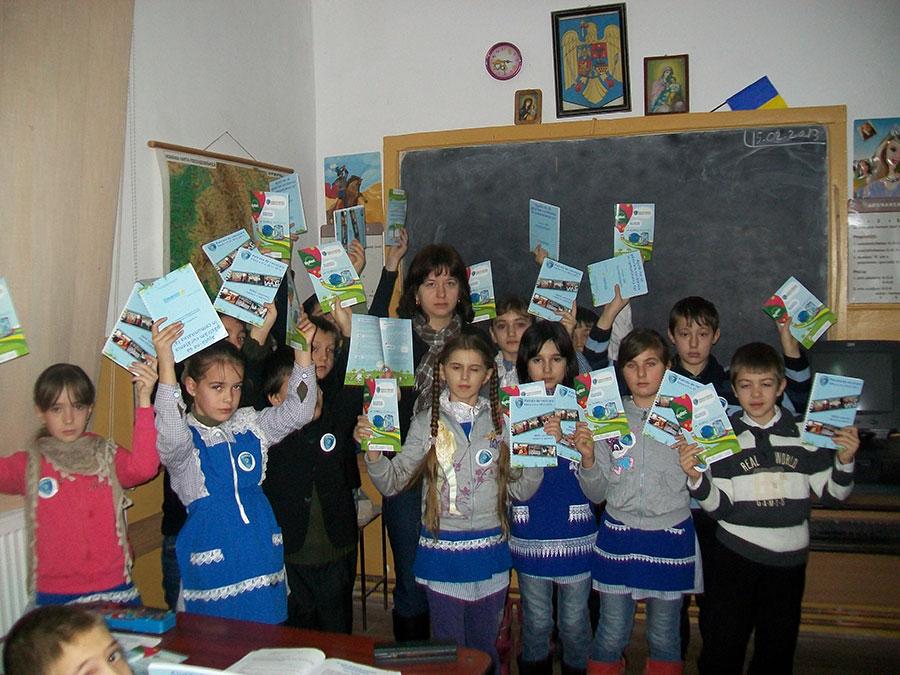 Patrula de reciclare se desfăşoară sub forma unui program educaţional de protecţie a mediului