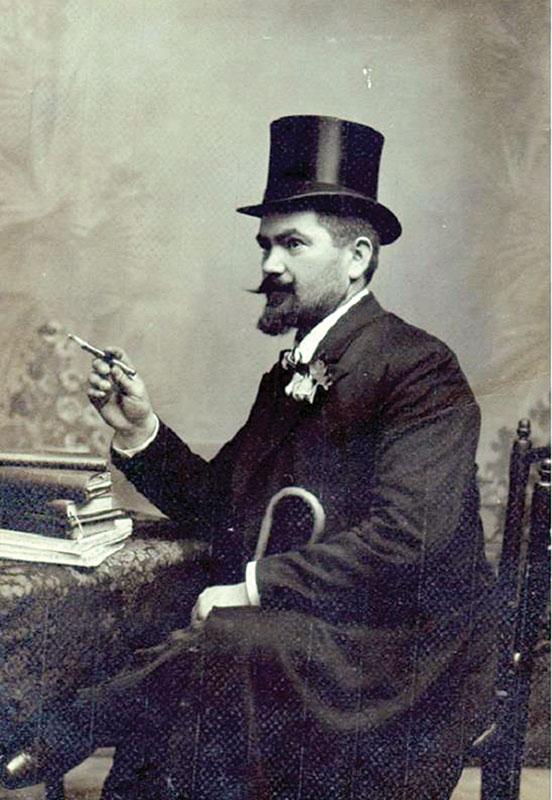 Profesorul Stelian Sterescu, în uniformă de căpitan în iulie 1914