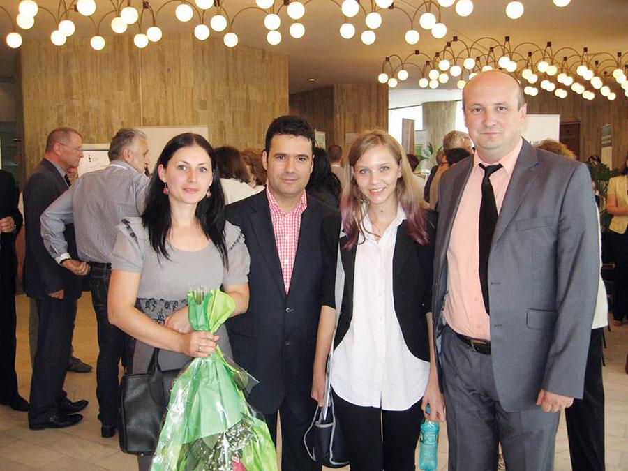 Reprezentanţii CTGGM au fost premiaţi chiar de ministrul Educaţiei, Remus Pricopie
