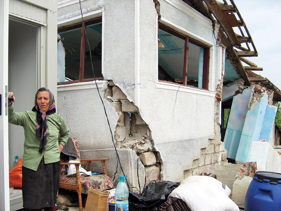 După o noapte de coșmar, în 2006, au urmat ani de chin pentru sinistrații din Seciuri