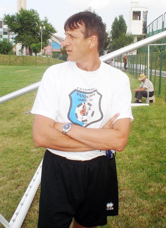 Emil Săndoi a fost cel care a deschis drumul performanţei la Pandurii.
