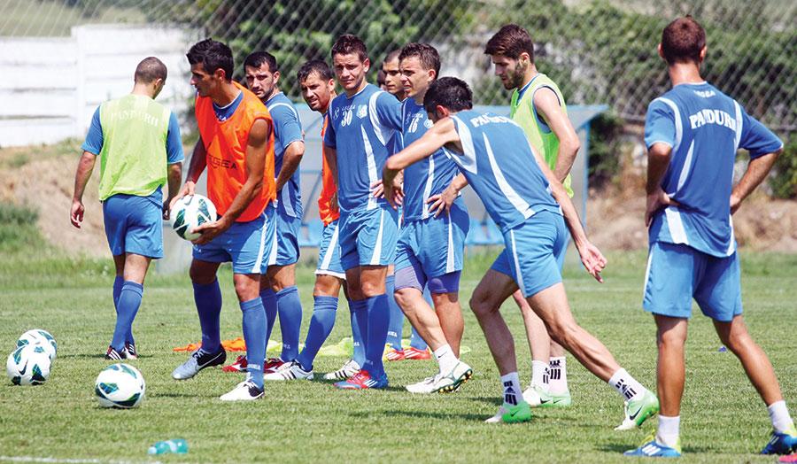 Şi în sezonul 2013-2014 Pandurii vor avea obiectiv de performanţă.