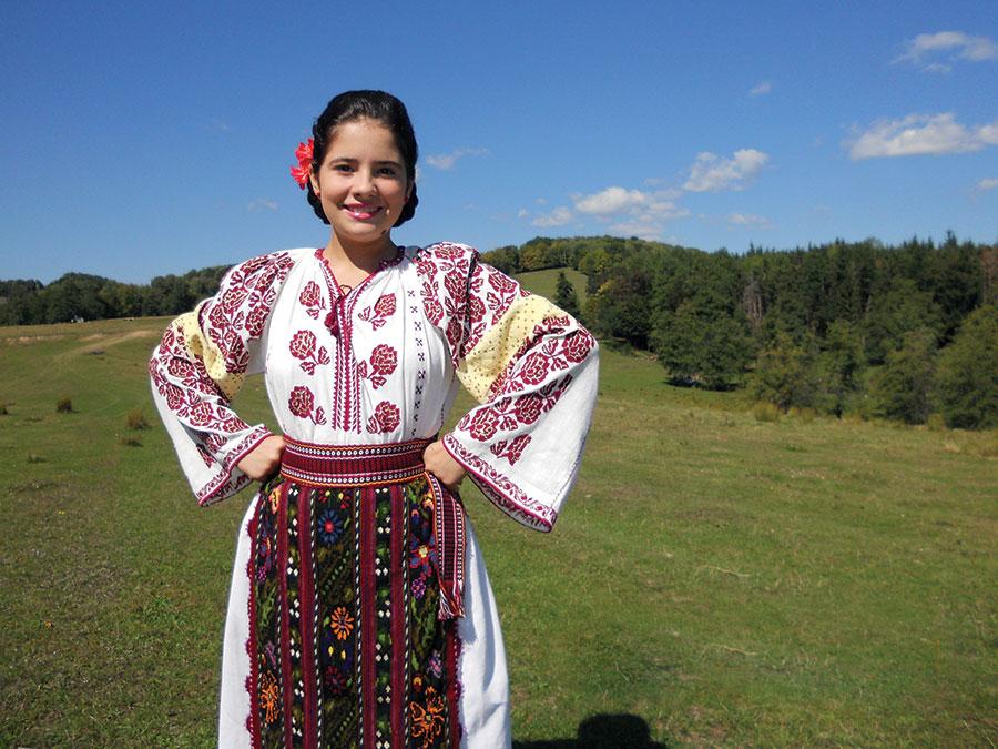 Roxana Croitoru, o mică artistă, dar cu o voce mare
