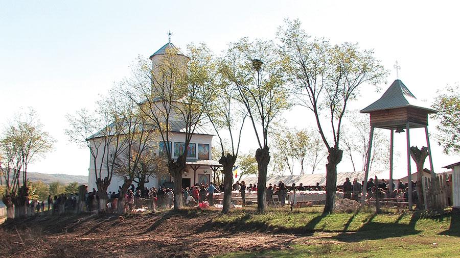 Satul Ciorari a devenit, pentru o zi, cel mai important din Stoina