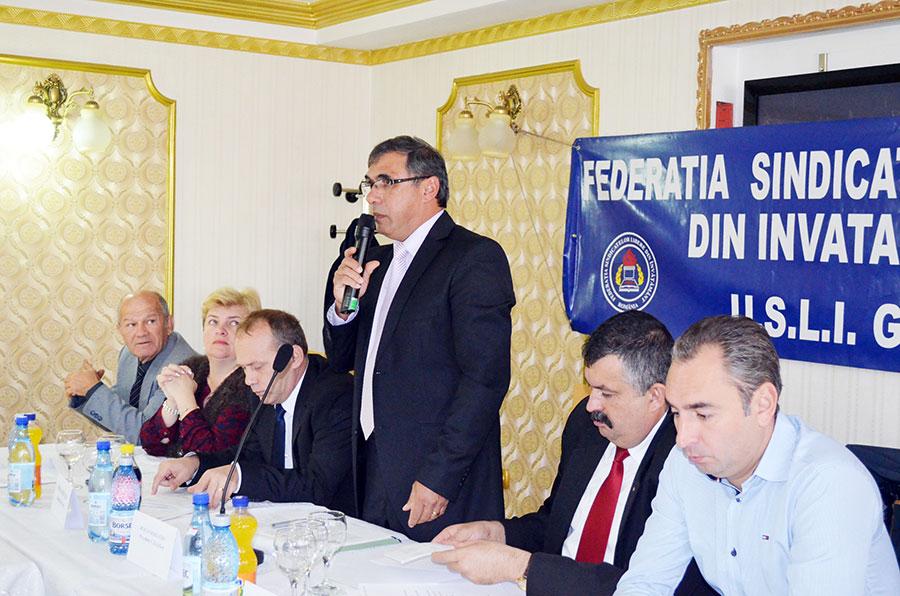 Constantin Huică, preşedintele USLI Gorj, spune că dascălii gorjeni vor ieşi în stradă