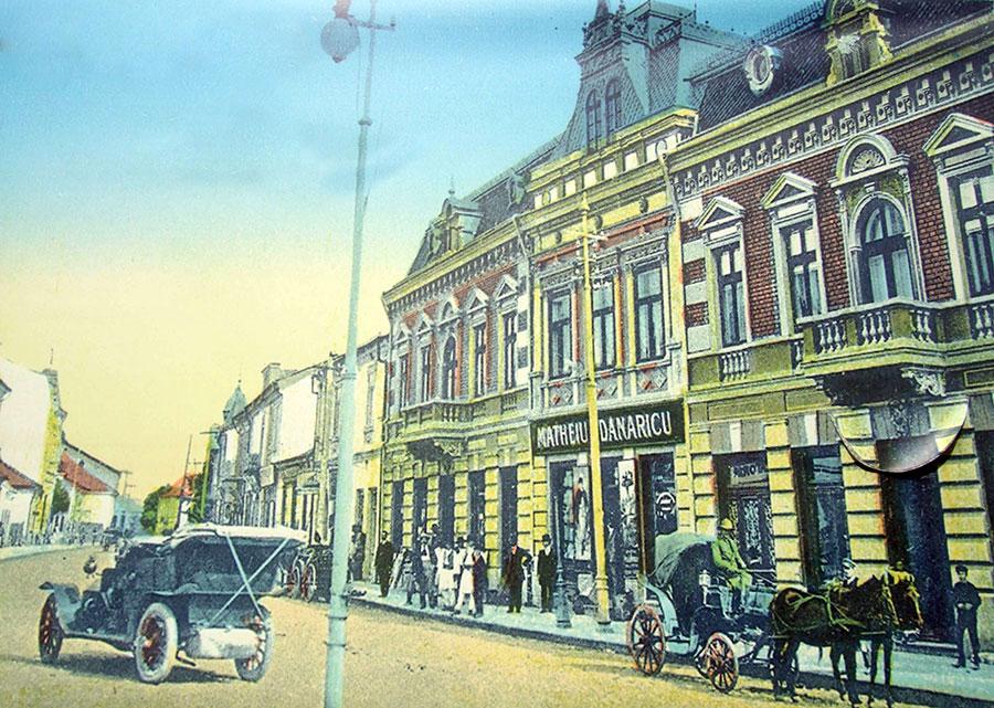 Târgu-Jiul la 1936 ca şi judeţul erau slab dezvoltate
