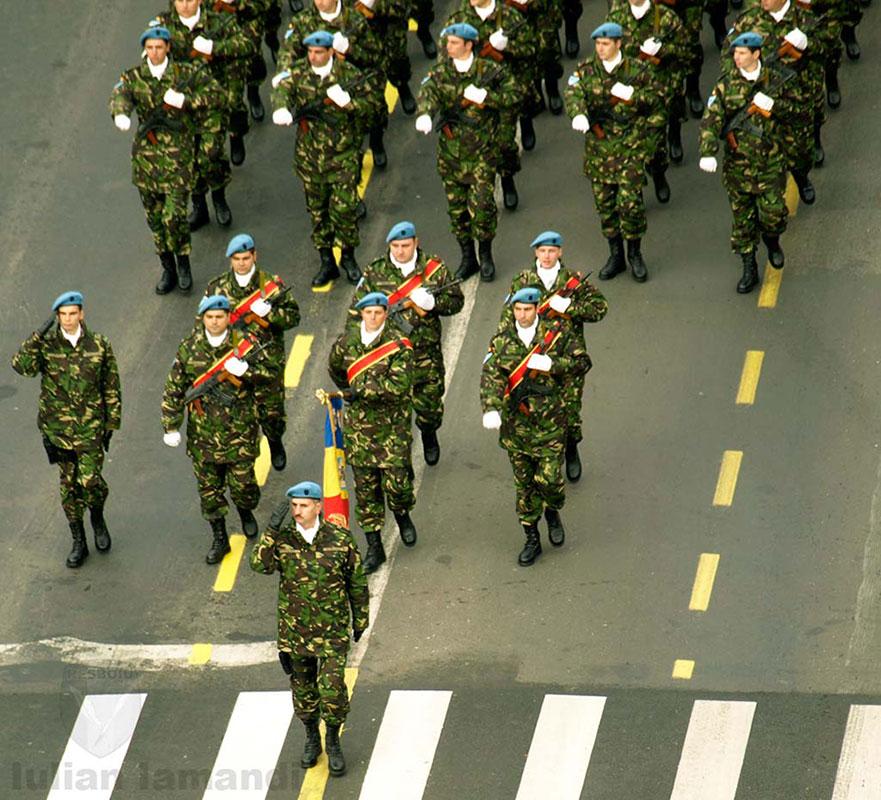 Armata este instituția cea mai apreciată de români