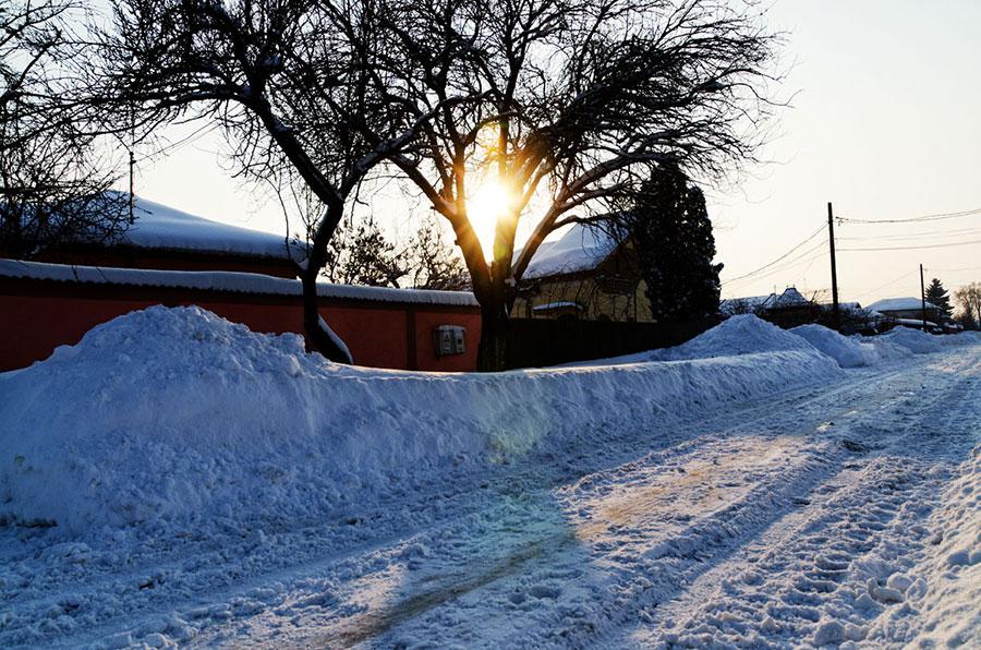 Gorjenii aşteaptă Sărbătorile şi zăpada