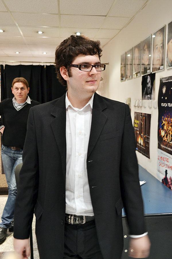 Elevul Mihai Ţucă consideră acest concurs o provocare