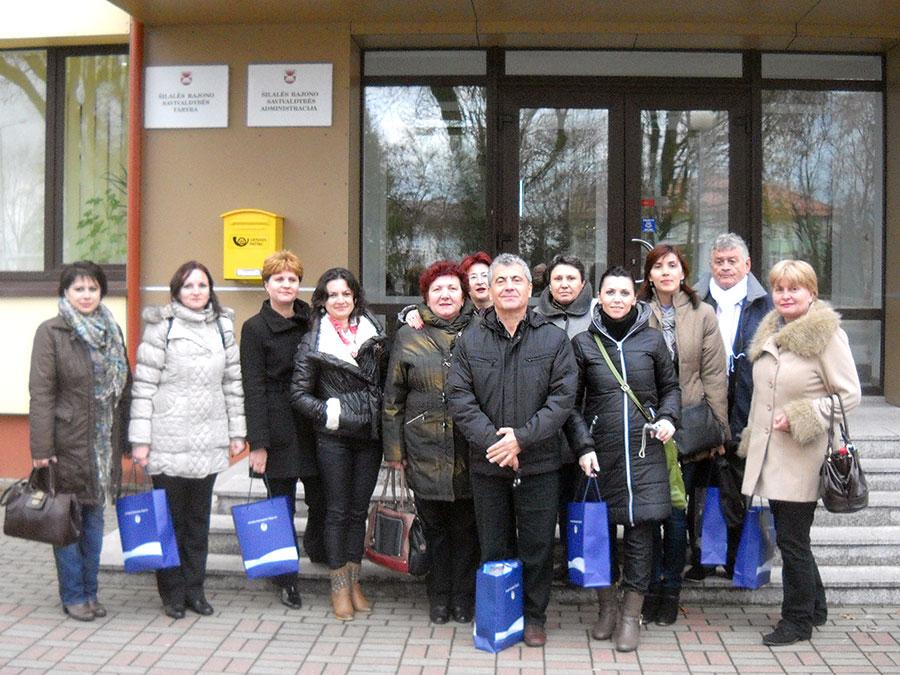 Gorjenii au deplasat în Lituania profesori dar şi reprezentanţi ai Primăriei Târgu-Jiu