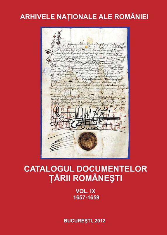 Una din colecţiile de documente editate de Arhivele Naţionale