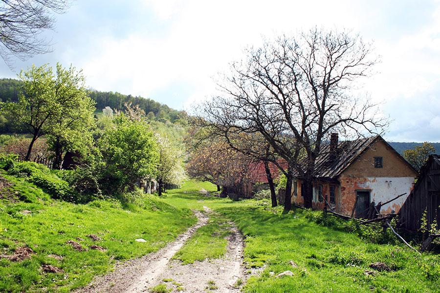 Multe din satele Gorjului de odinioară mai pot fi găsite doar în documente