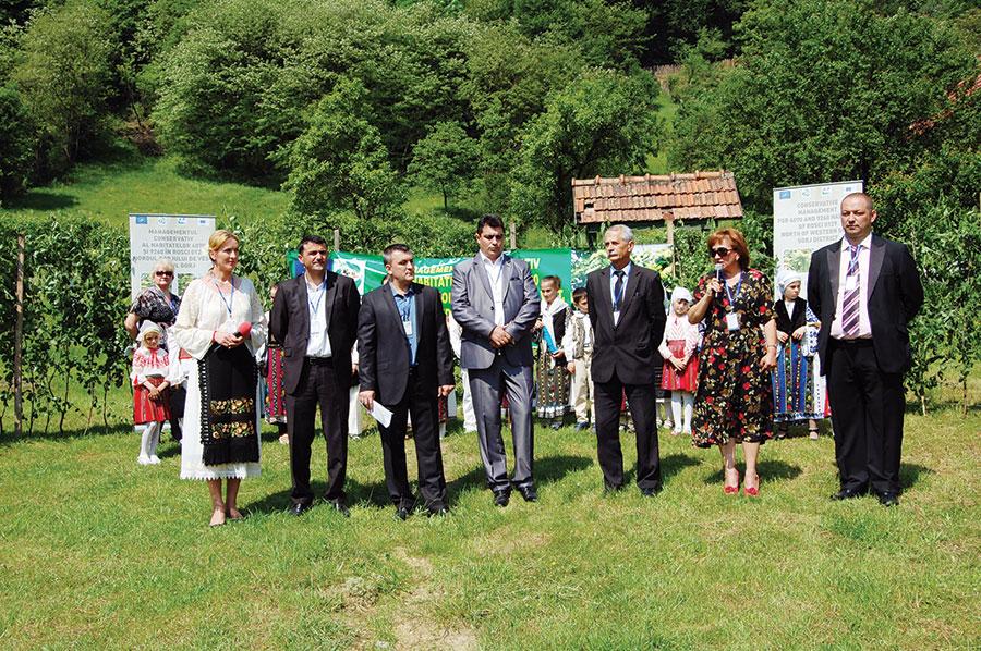 Proiect implementat de Agenția pentru Protecția Mediului Gorj, Administrația sitului Nordul Gorjului de Vest și Institutul de Cercetare și Amenajări Silvice Brașov