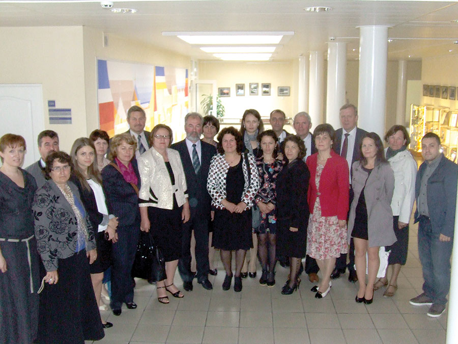 Delegația din Hurezani, în vizită de lucru la Kretinga