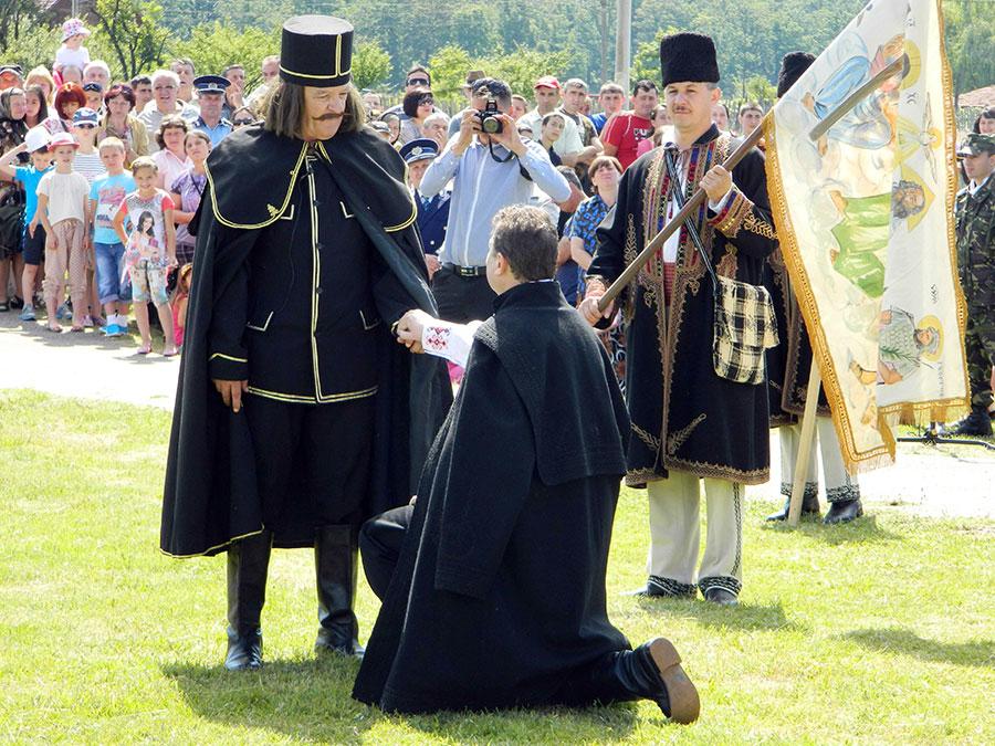 """Evenimentul """"Imn pentru Tudor Vladimirescu"""" a debutat, ca în fiecare an, pe Câmpia Soarelui"""
