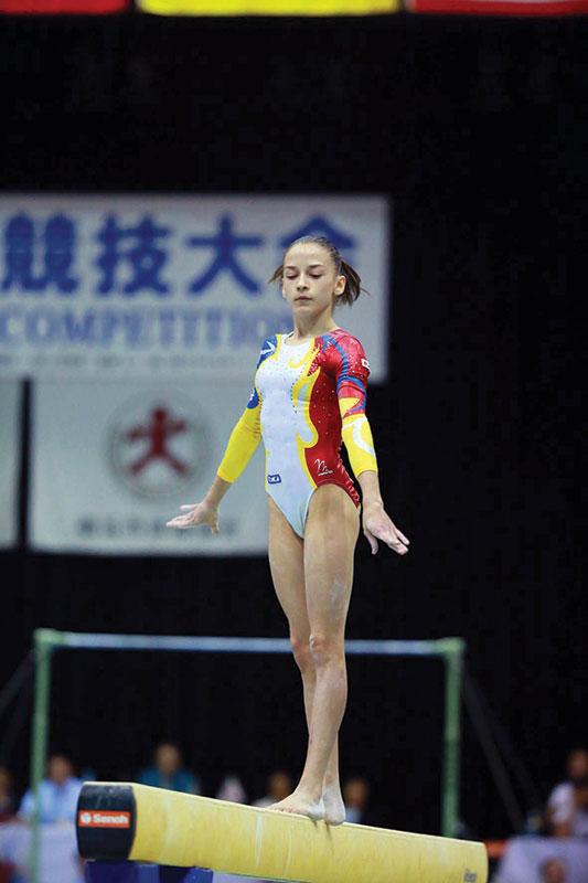 Cea mai înaltă treaptă a podiumului, pentru gorjeanca noastră, Andreea Munteanu