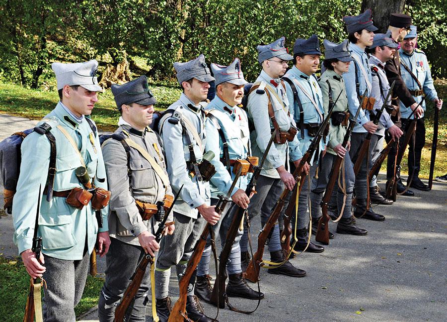 După 98 de ani de la evenimente, au fost reconstituite evenimentele din 1916