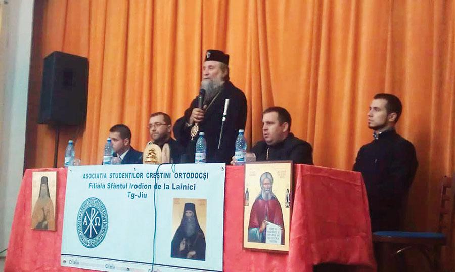 IPS Irineu, invitat la Târgu Jiu să conferențieze la Filocalia