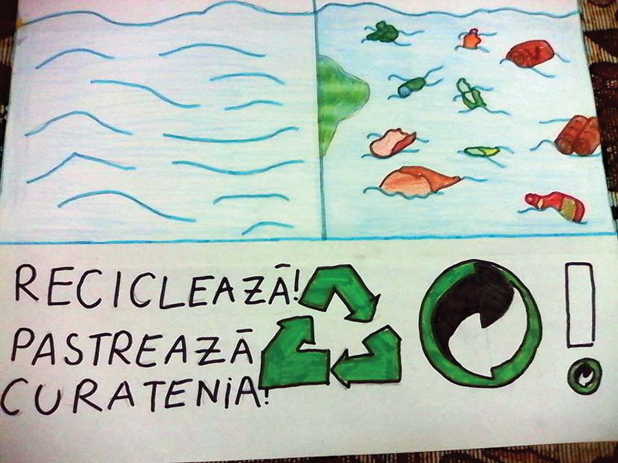 Peste 220 de școli din România au ales să se implice în Proiectul Eco Junior 2015