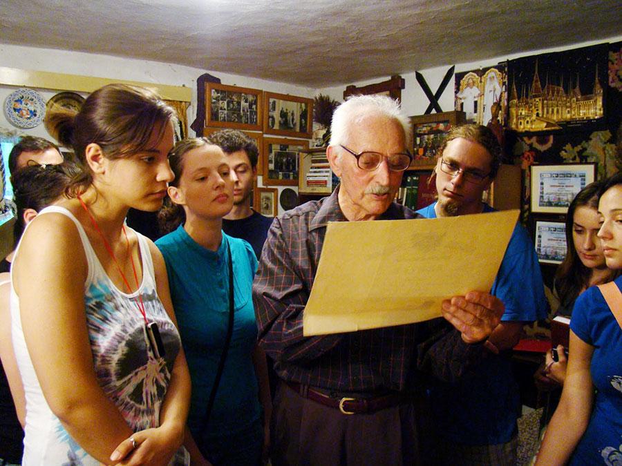 Pentru cei interesați de trecutul zonei, Gheorghe Cuțuliga era un izvor nesecat de informații