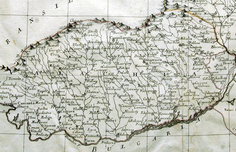 Armata națională a apărut în Muntenia abia în prima parte a secolului al XIX-lea