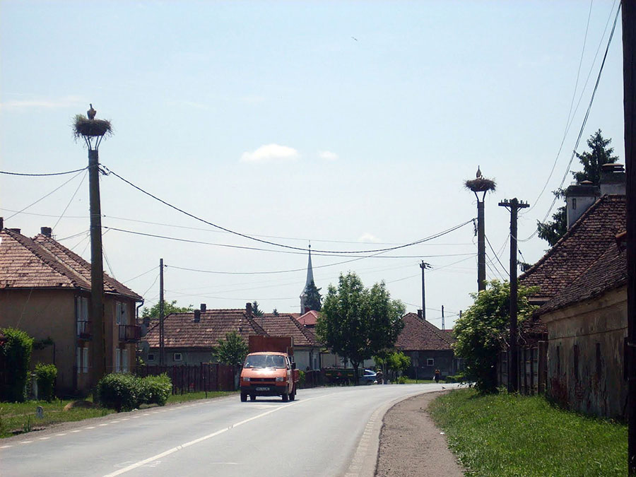 Pe stâlpi de lemn sau de ciment, satele Gorjului au fost conectate la energia electrică acum peste patru decenii