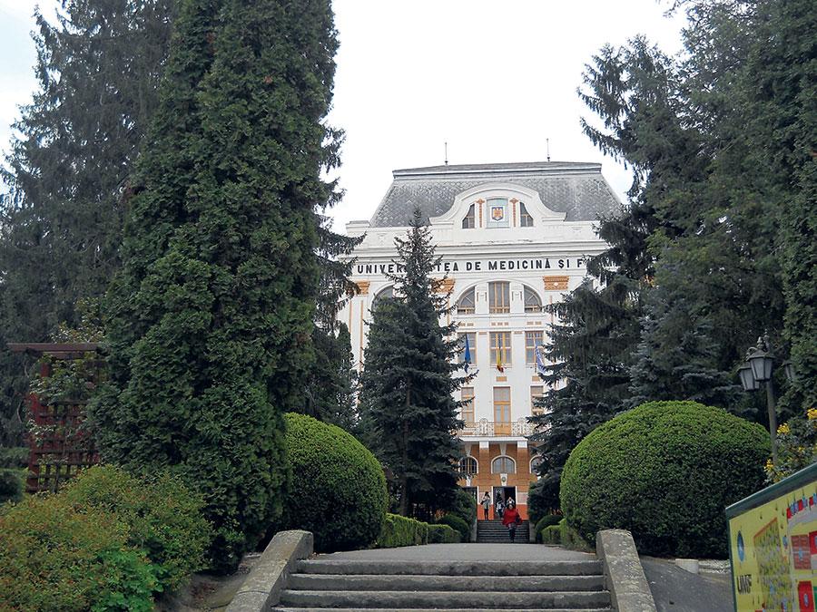 UMF Târgu-Mureș este socotită cea mai reprezentativă instituție de învățământ medical din țară