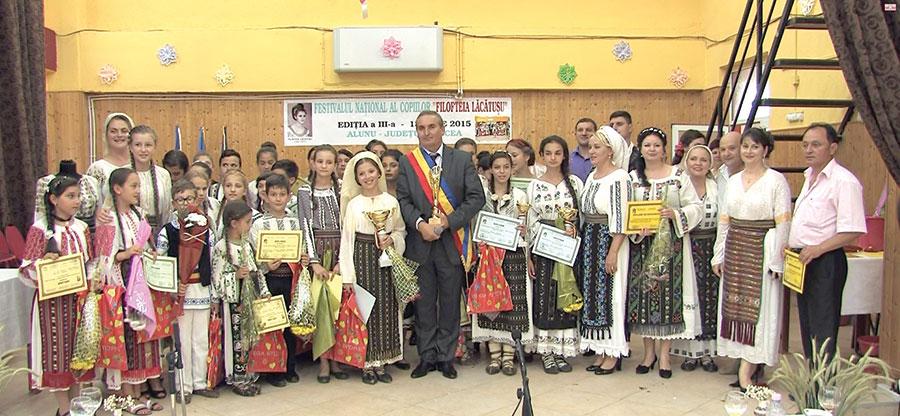 Toți copiii care au participat la Festival au plecat acasă cu diplome, cadouri și premii