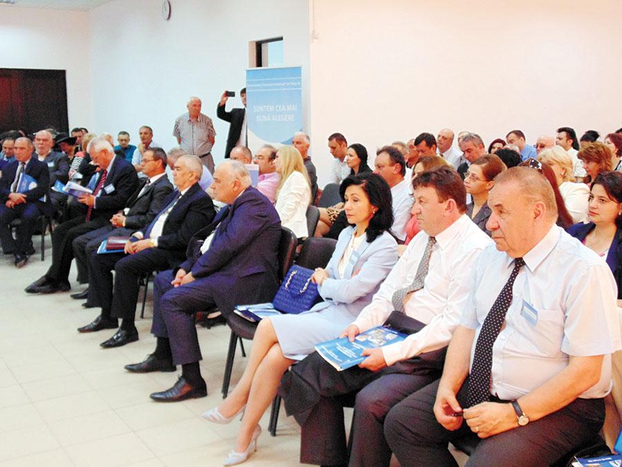 Lansarea în dezbatere publică a Legii a adus la Târgu-Jiu personalități importante