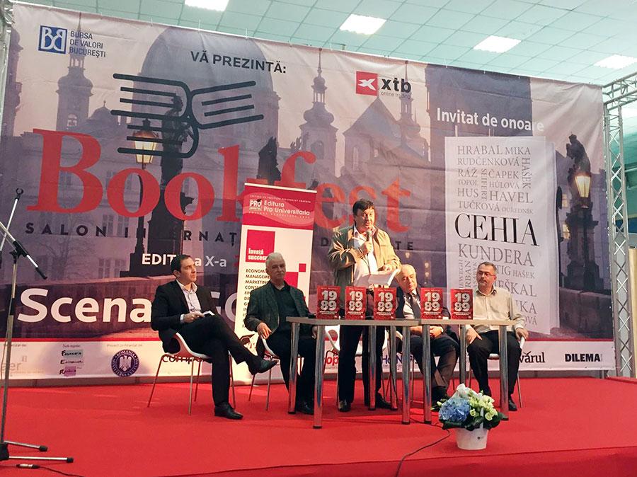 Cartea a fost lansată în cadrul ediției a X-a a celui mai important salon de carte din România, Bookfest 2015