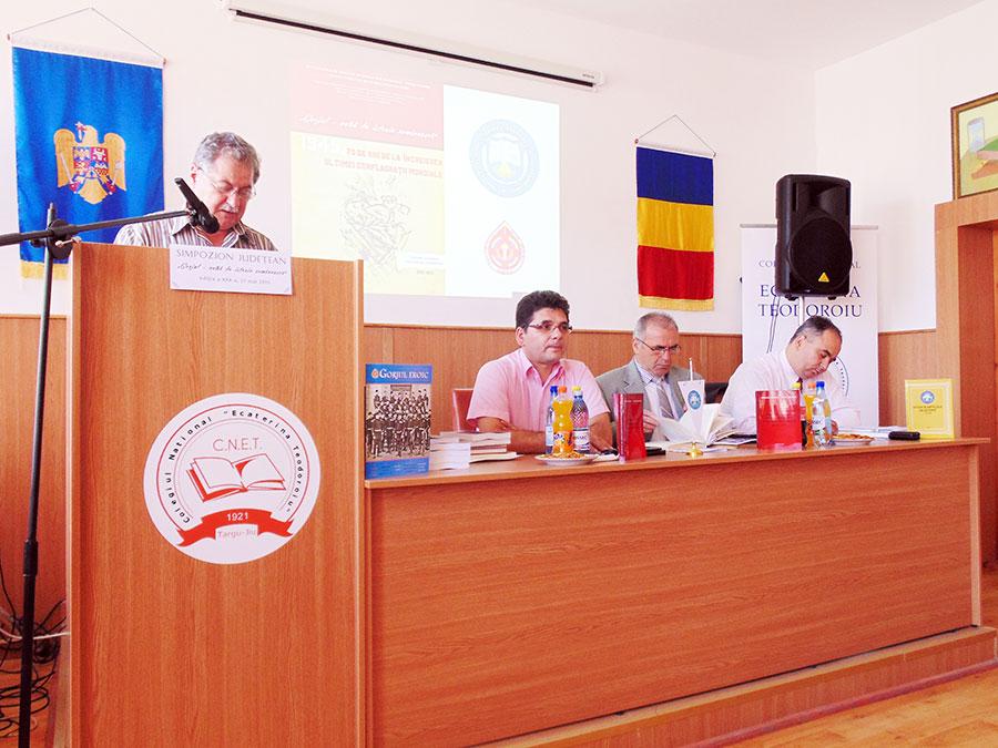 """Simpozionul """"Gorjul-vatră de istorie românească"""" se organizează de trei decenii la Târgu-Jiu."""