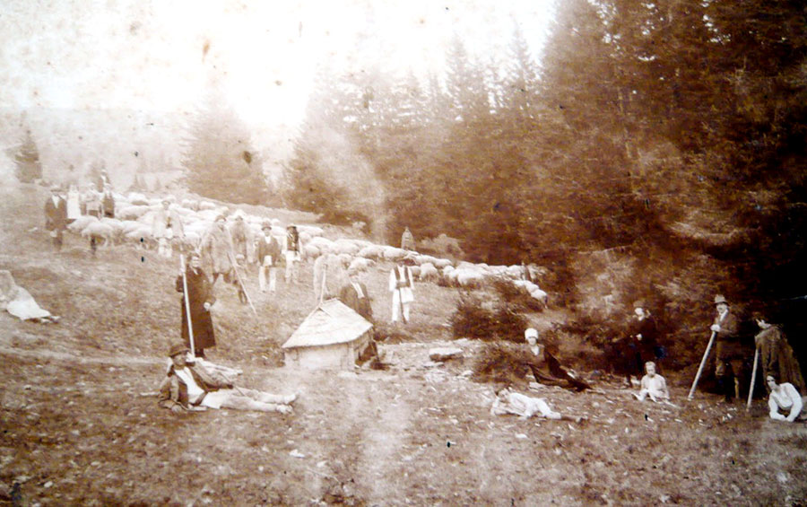 Novăceni la începutul secolului trecut