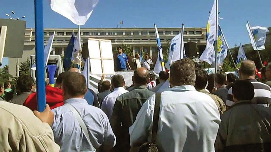 Angajații RAAN vor ajunge până la Guvern