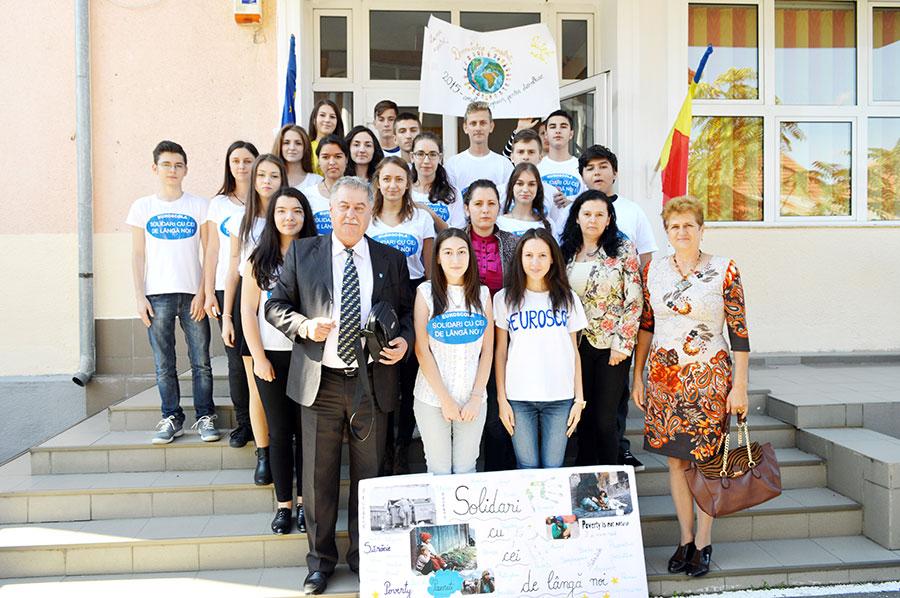 Elevii de la CNET speră la succes în competiţia europeană