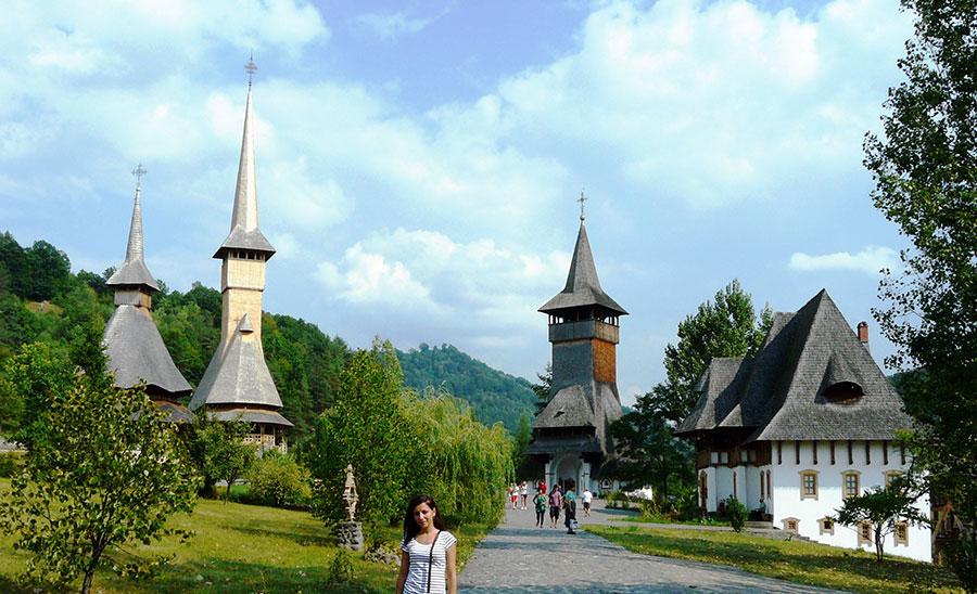 Reporterul vă prezintă un colț de rai pe pământ, Mânăstirea Bârsana