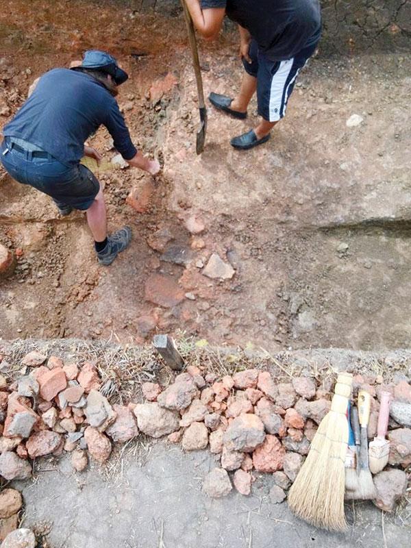 Pentru prima dată, la Cetatea Păișani au fost descoperite materiale arse pre preparate
