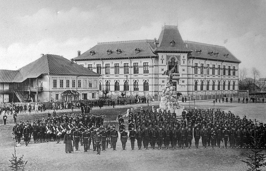 Majoritatea celor care au activat în Societate proveneau din Regimentul 18 Gorj