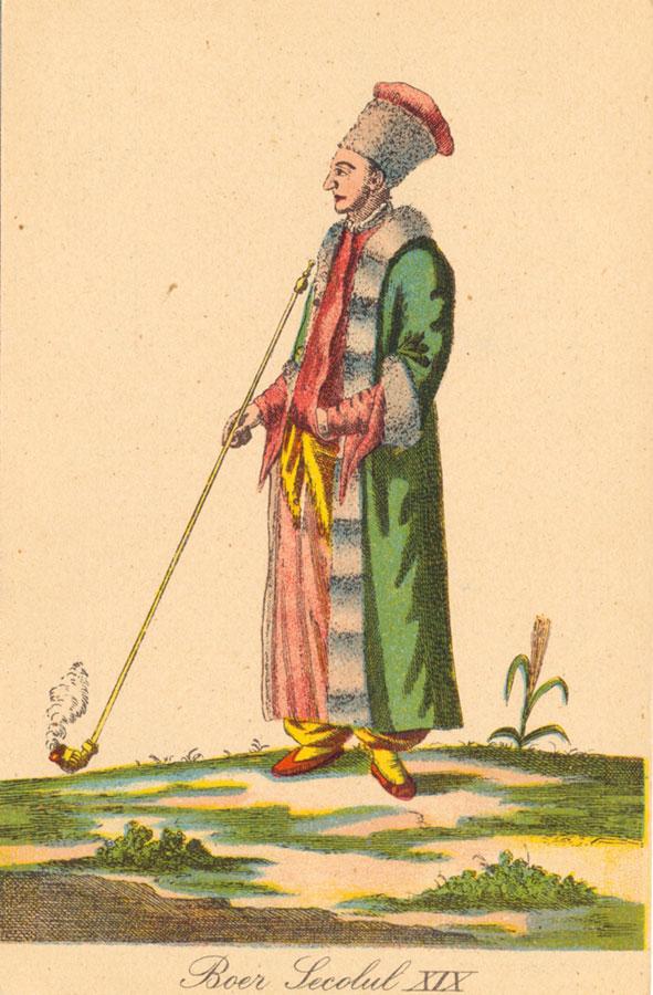 Iată cum arăta şi se îmbrăca un boier la începutul secolului al XIX-lea