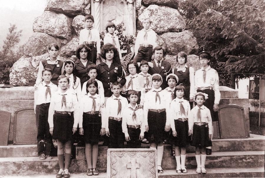 Toți elevii își doreau să fie pioniei și apoi uteciști