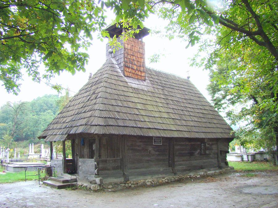 Biserica de Lemn Ceauru este unul din simbolurile localității