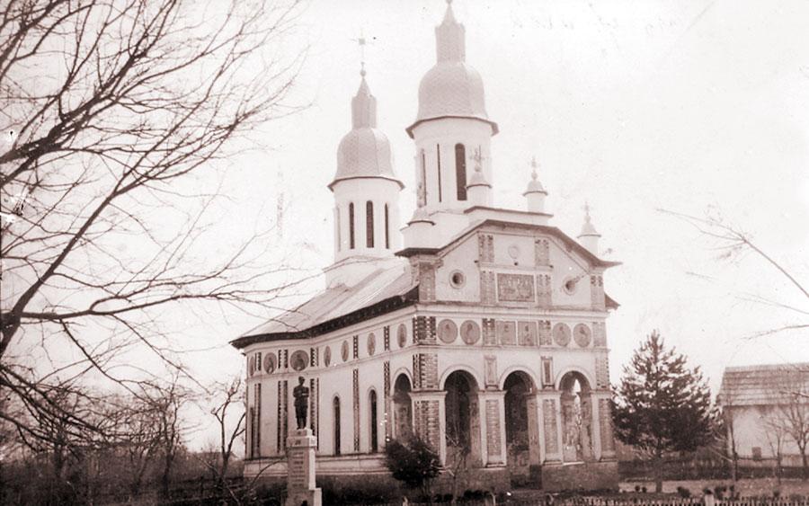 Biserica parohială Ceauru în anii războiului