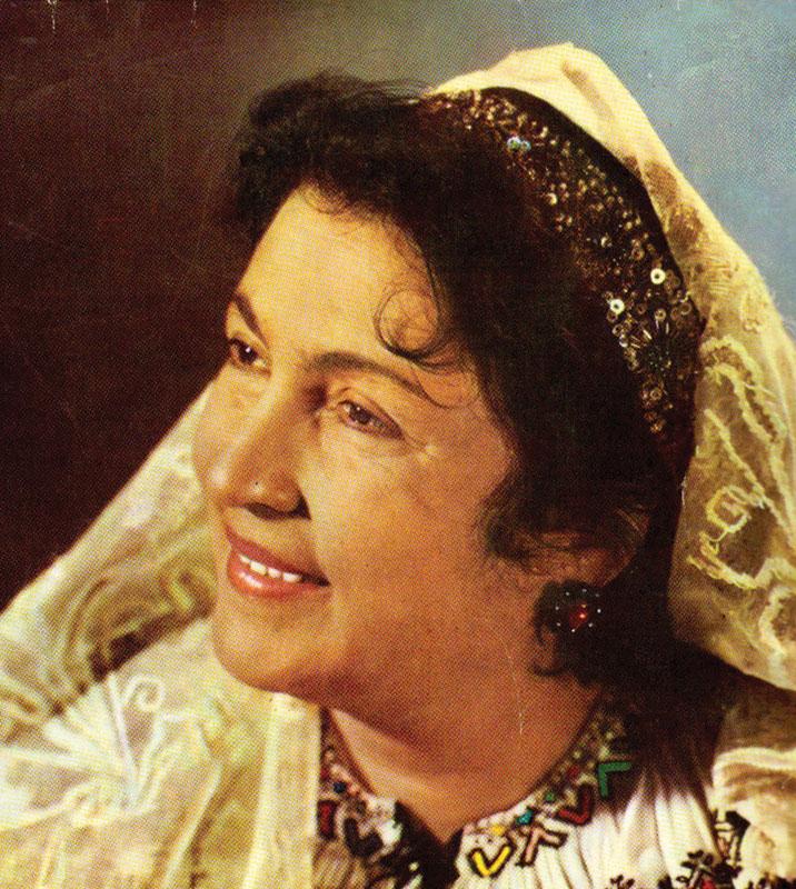 Maria Lătărețu, vocea de aur a folclorului românesc