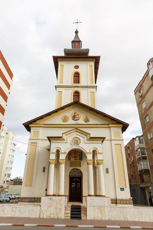 Imagine contemporană a Bisericii Sfinții Împărați