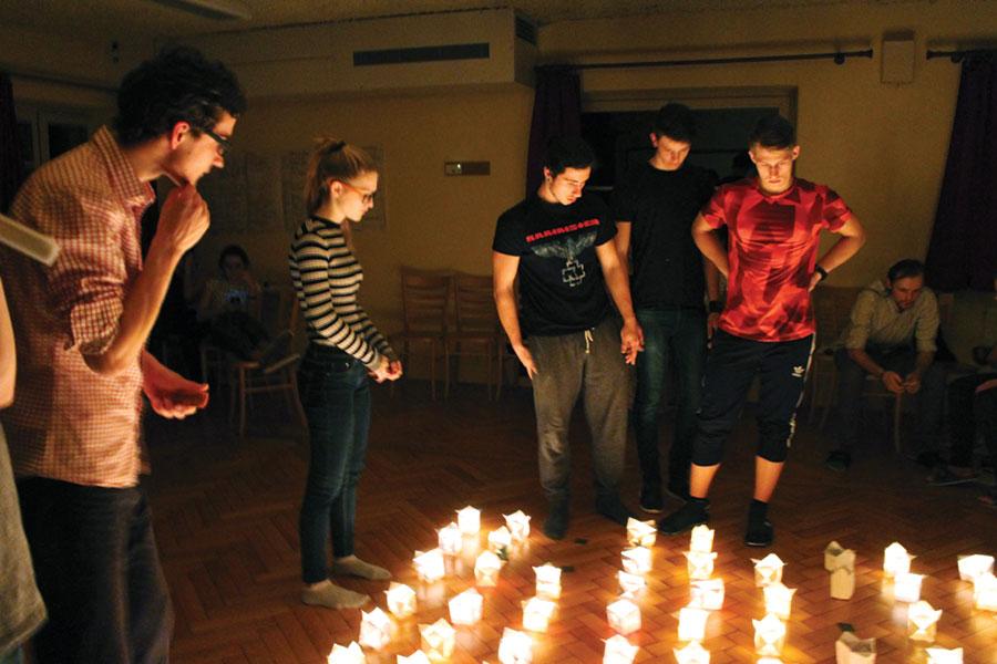 Tinerii din Cehia și România au interacționat între ei, pe toată durata proiectului