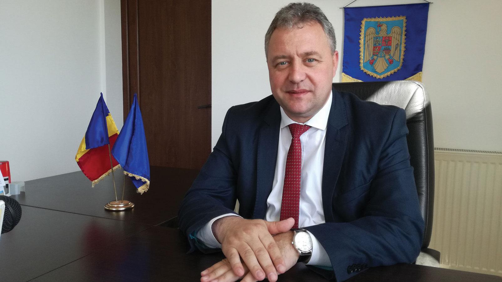 Primarul comunei Bălănești, Ovidiu Pungan, mereu pus pe treabă