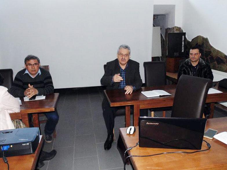 Simion Hăncescu, președintele FSLI, a avut recent o întâlnire cu liderii de sindicat din învățământ din Gorj