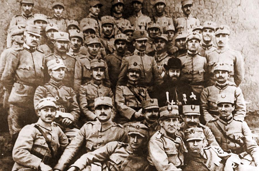 Preoții militari au jucat un rol important în cele doua razboaie mondiale