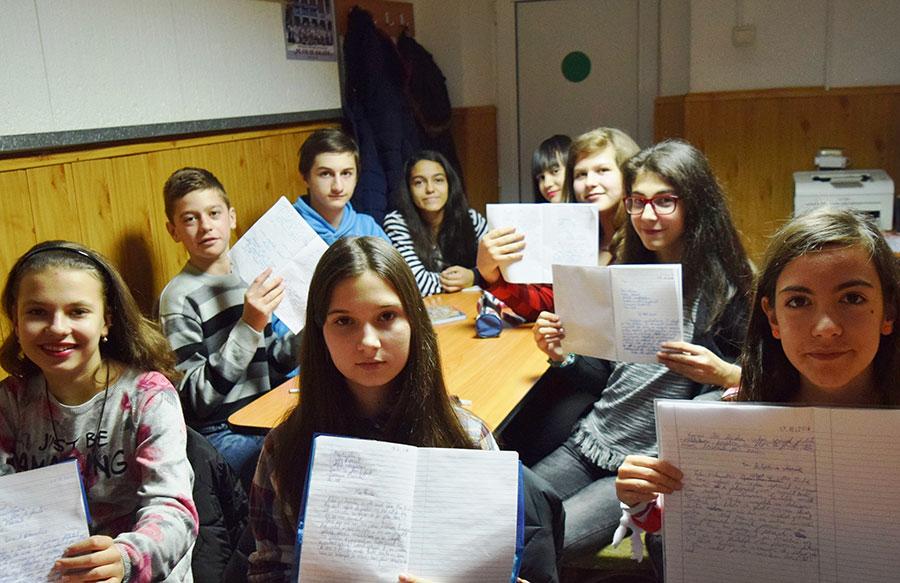 Elevii s-au arătat interesați de ideea de a deveni jurnaliști