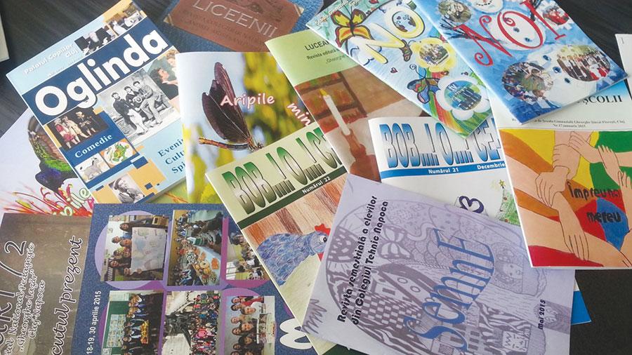 9 reviste școlare de la Gorj vor reprezenta județul în competiția națională
